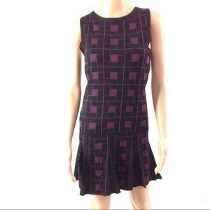 Alice + Olivia Women's Dress Size S Black Purple